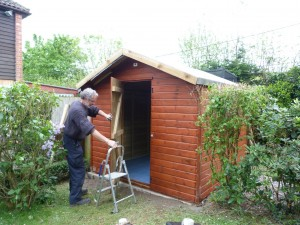 The Shed donated by Skinners Sheds.