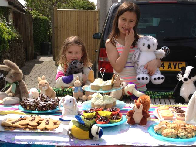 Bake sales are a fun, family-friendly way of raising funds!