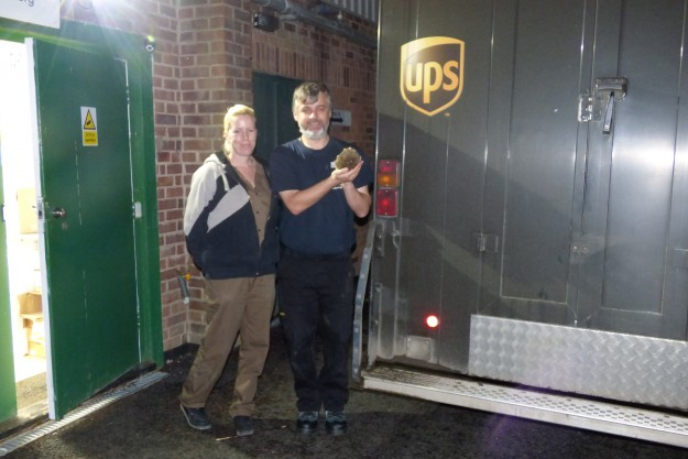 UPS special delivery to WRAS