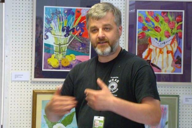 WRAS founder Trevor Weeks MBE